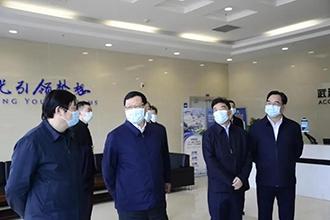 湖北省委书记应勇到中国信科集团调研慰问
